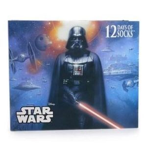 NWT Star Wars 12 Days of Socks Advent Calendar
